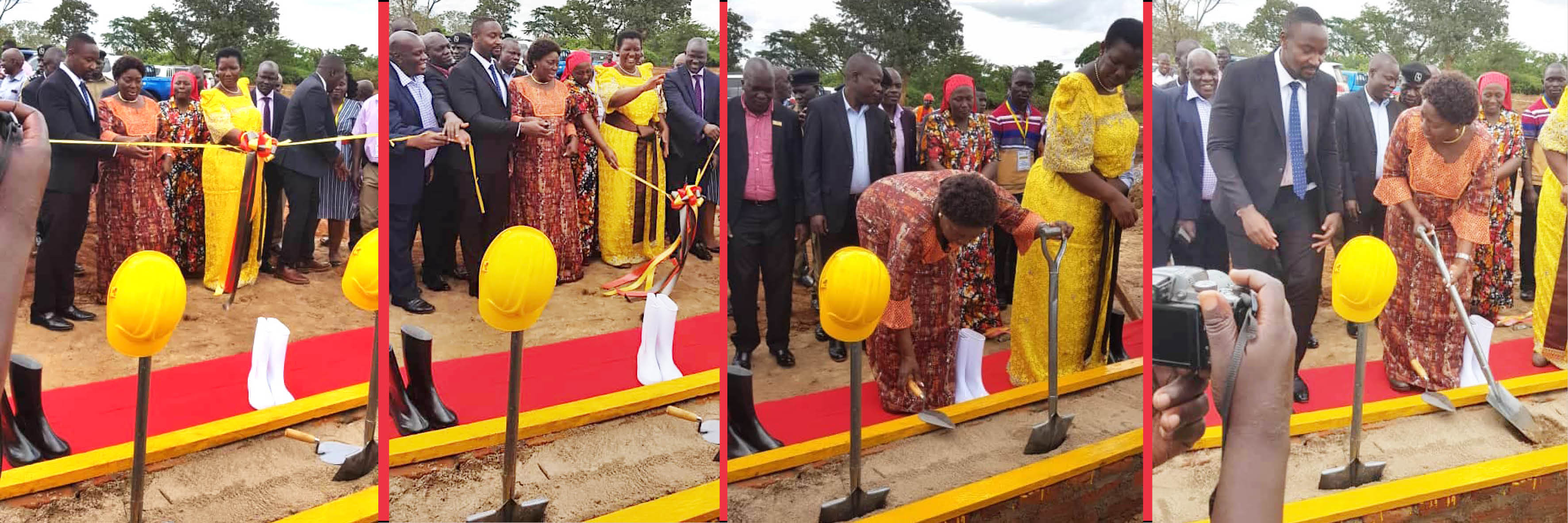 Rt.Hon. speaker launches the Busoga Livestock Transformation Project of the Kasolwe Stock Farm